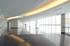 Lång korridor Royaltyfria Foton