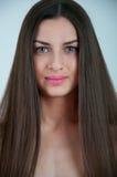 lång kvinna för hår Royaltyfria Bilder