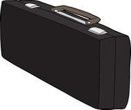 Lång resväska Arkivbild