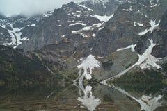 Lång sjö Fotografering för Bildbyråer