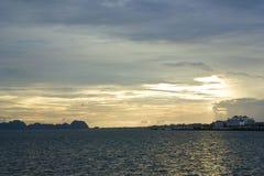 Lång solnedgång för mummel Royaltyfri Bild