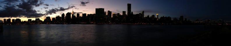 lång stadsö Arkivbilder