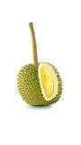 Lång stam eller Kan yao durian, den dyraste durianen Arkivbild