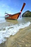 lång svan för fartyg Royaltyfria Bilder