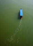 lång svan för fartyg Royaltyfri Foto