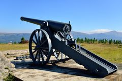 Lång Tom kanon Royaltyfri Foto