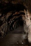 lång tunnel Fotografering för Bildbyråer