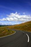 lång vägspolning Royaltyfria Foton
