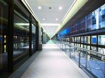 lång walkway Royaltyfri Foto