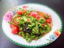Långa Bean Salad Arkivbild