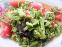 Långa Bean Salad Arkivbilder