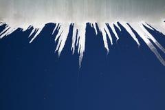 Farlig vinteristapp Arkivfoto
