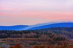 Långa kullar Royaltyfri Fotografi