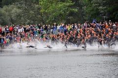 Långdistans- Triathlonvärldsmästerskap 2012 Royaltyfri Bild