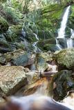 Långsamma vattenfall royaltyfri fotografi