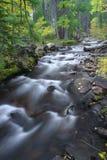 långsamt vatten Arkivbild