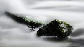 Långt exponeringsvatten Arkivfoton