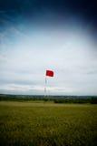långt golfhål Arkivbilder