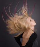 Långt hår Arkivfoton