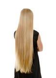 Långt hår Fotografering för Bildbyråer