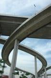 Långt högväxt Expressway High Fotografering för Bildbyråer