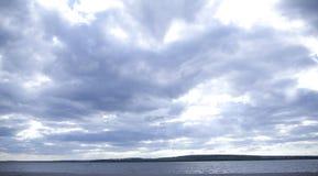 Långt nära havet Fotografering för Bildbyråer