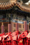 långt tempel för beijing livstid royaltyfri bild