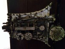 lås medeltida Arkivbilder