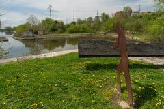 Lås 16 på I&MEN Canal Royaltyfri Foto