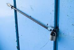 Låset på dörren Arkivbild