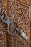LÃ¥st dörr Arkivbilder