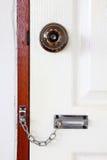 låst dörr Royaltyfria Foton