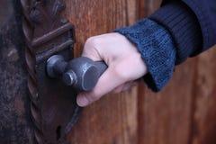 låst dörr Royaltyfri Bild