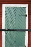 lÃ¥st gammalt för stängd dörr Arkivbilder