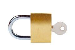 låst padlock Royaltyfri Bild