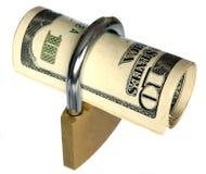 låst rikedom Arkivfoton