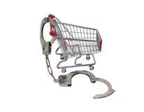 lÃ¥st shopping Fotografering för Bildbyråer
