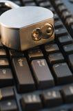 låst tangentbord Arkivfoto