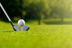 Låt golf för ` s i dag arkivbilder