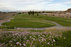 Låt oss play golf Arkivbild