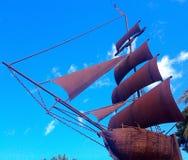 Låt oss segla ovanför molnen Royaltyfri Foto