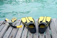 låt s som snorkeling Royaltyfri Bild