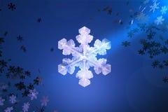 låt snow Arkivfoto