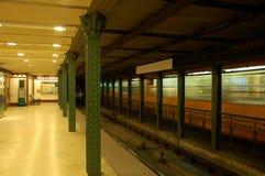 låt vara metroen Royaltyfria Bilder