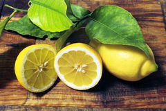 låter vara citroner Arkivbild