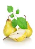 låter vara pears tre royaltyfri bild