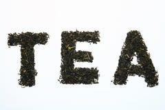 låter vara tea Fotografering för Bildbyråer