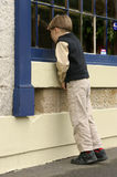 Lèche-vitrines Images stock
