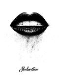 Lèvres Photographie stock