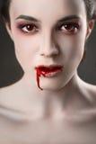 Lèvres rouges photo stock